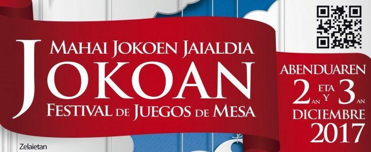 Poster JOKOAN 2017 (organizadores)